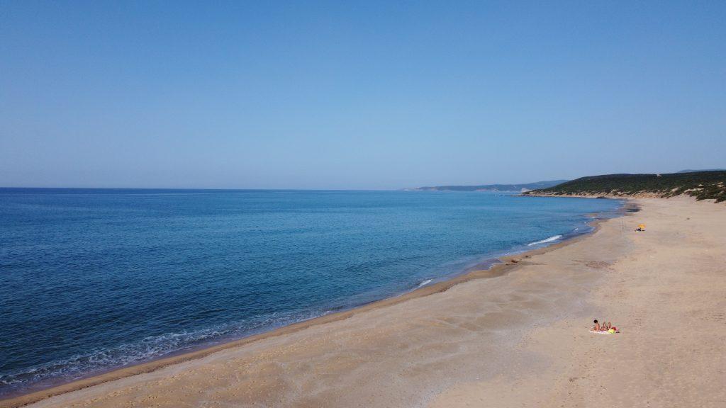 lungomare spiaggia di piscinas